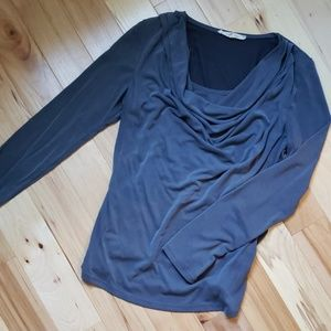 Womens gray blouse